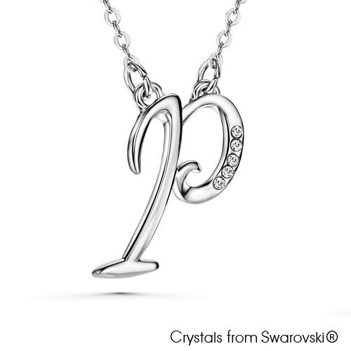 LUSH Alphabet P Necklace