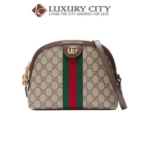 [Luxury City] Gucci Ophidia GG Small Shouler Bag Light Brown/Sand Gucci- 499621