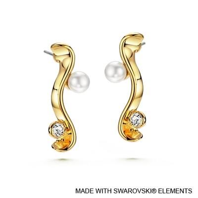 LUSH Coral Earrings
