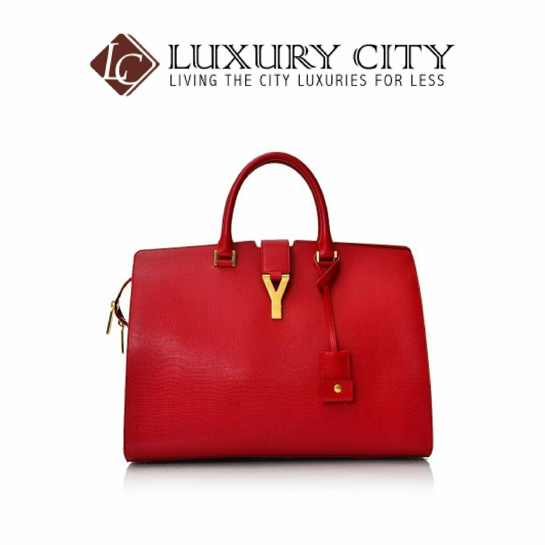 [Luxury City] Saint Laurent Large Cabas Y Bag