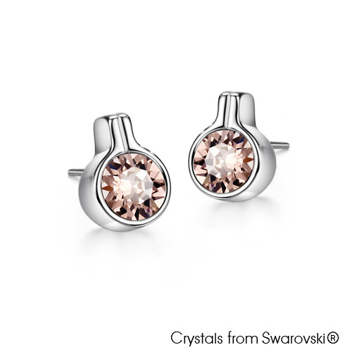 LUSH Solitaire Earrings