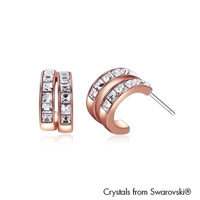 LUSH C Hoop Earrings