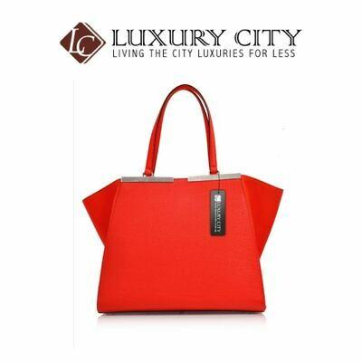 [Luxury City] Fendi Shopping 3Jours Tote Orange