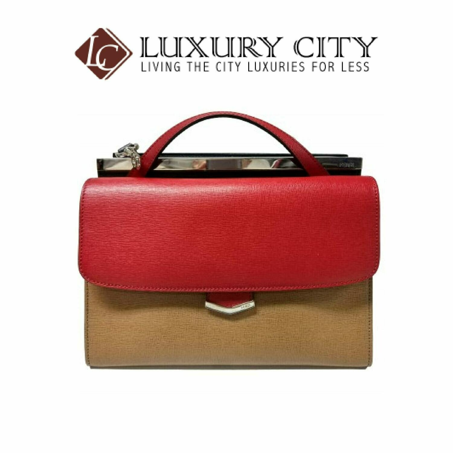 [Luxury City] Fendi 8BT222 Medium - Red/Brown/Blue