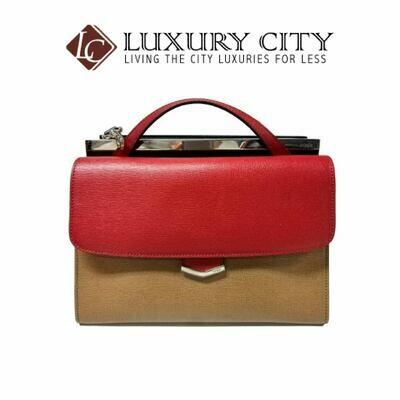 [Luxury City] Fendi 8BT222 Medium - Red/Brown/Blue