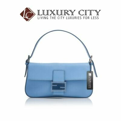 [Luxury City] Fendi Baguette Blue