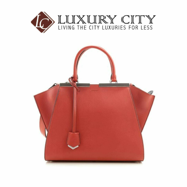 [Luxury City] Fendi Handbag 8BH279 - Dark Orange