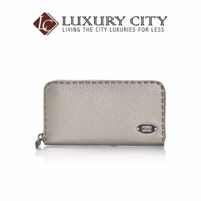 [Luxury City] Fendi Selleria Zip Around Wallet