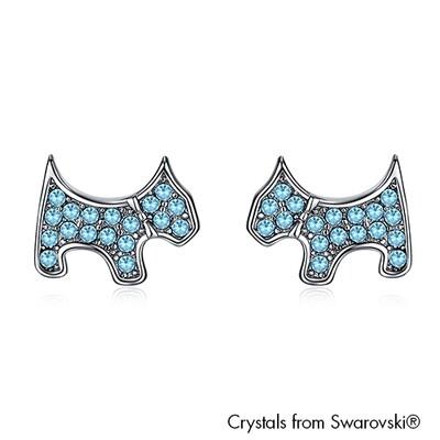 LUSH Cute Terrier Earrings