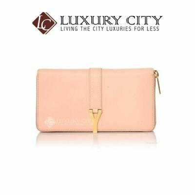 [Luxury City] Saint Laurent Y Line Zip Around Wallet