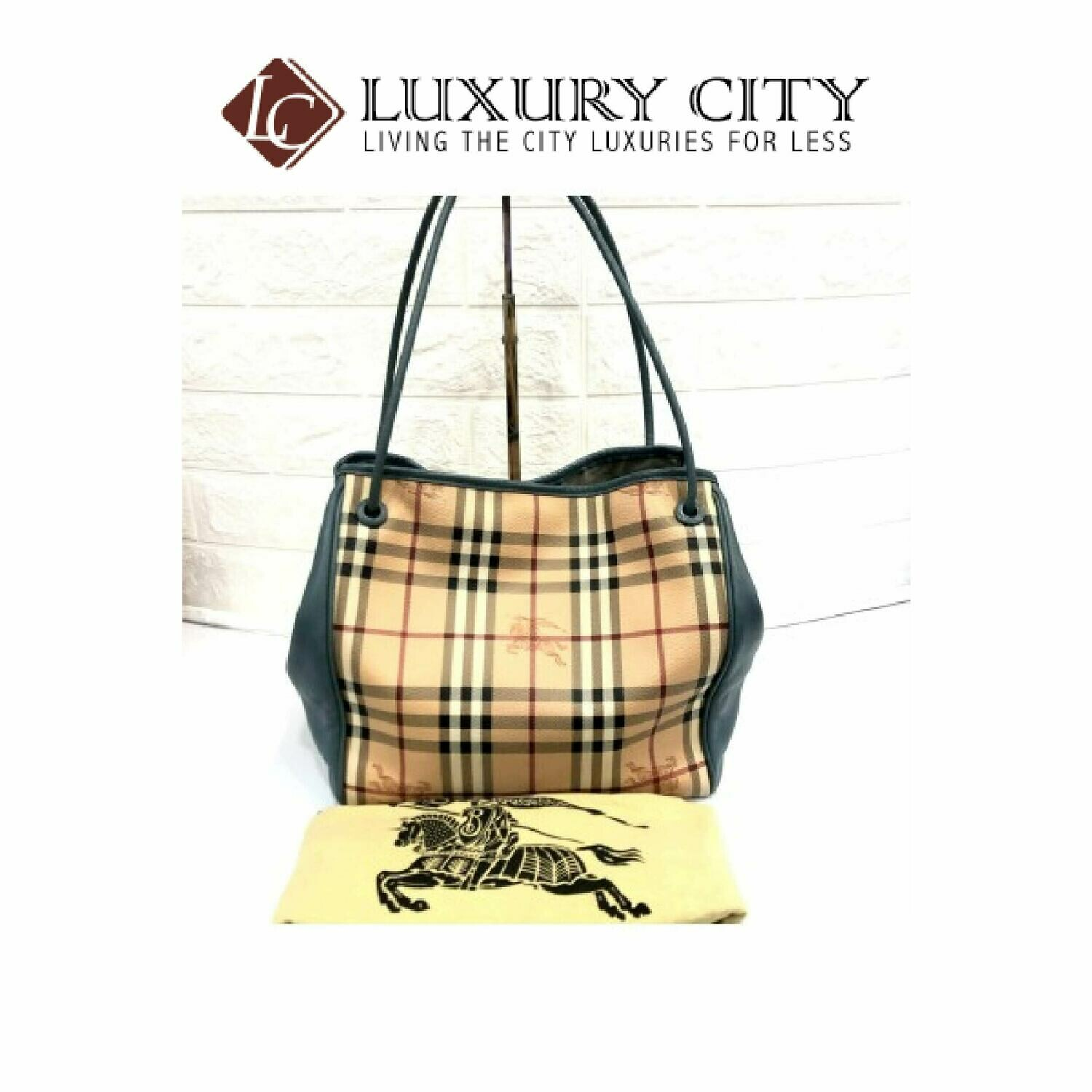 [Luxury City] Preloved Authentic Burberry Shoulder Bag