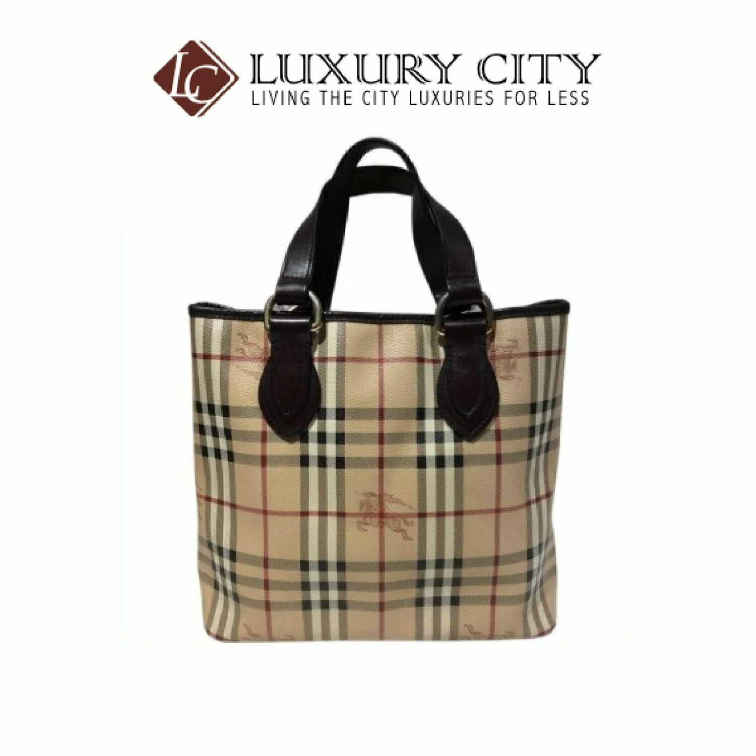 [Luxury City] Preloved Authentic Burberry Handbag