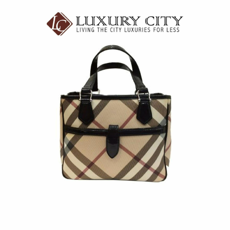 [Luxury City] Preloved Authentic Burberry Handbag