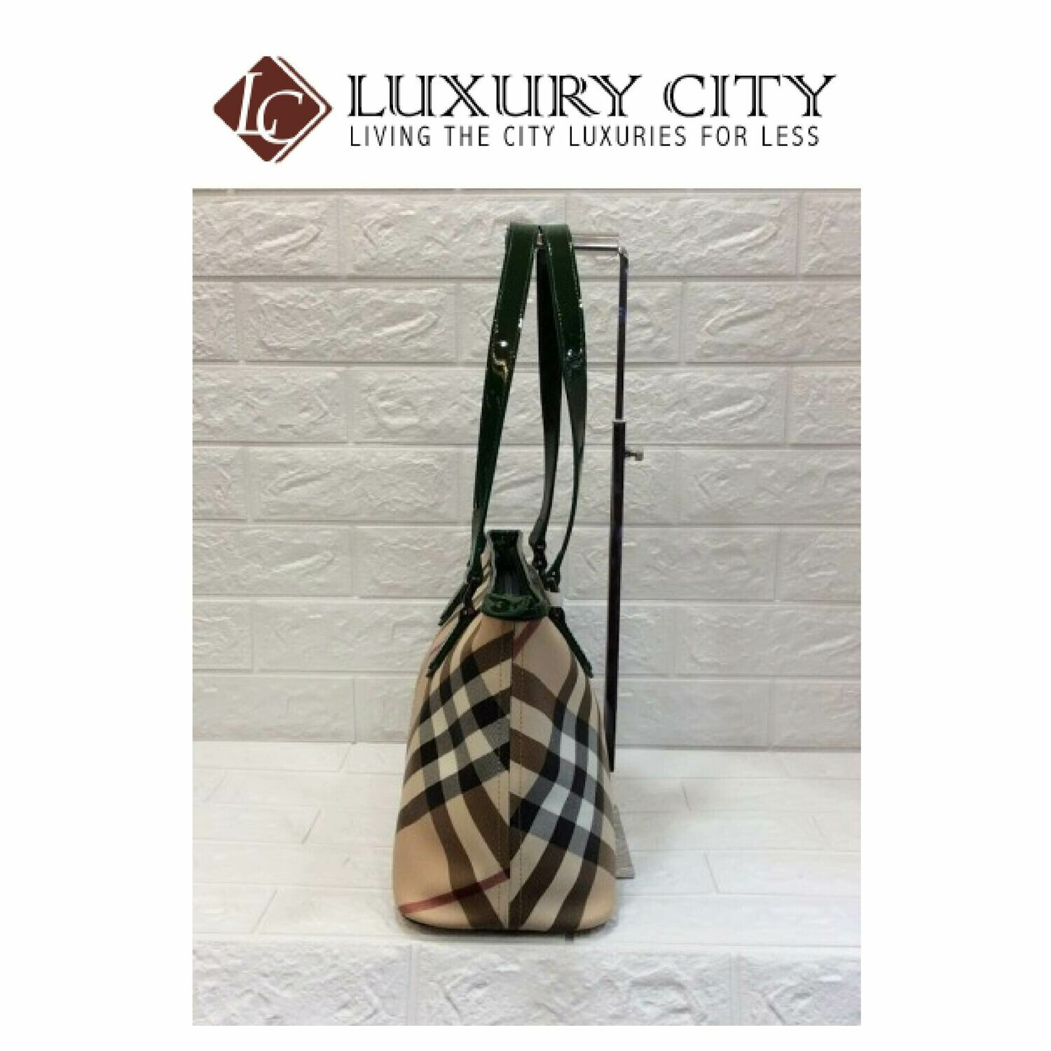 [Luxury City] Preloved Authentic Burberry Nova Check Tote Bag