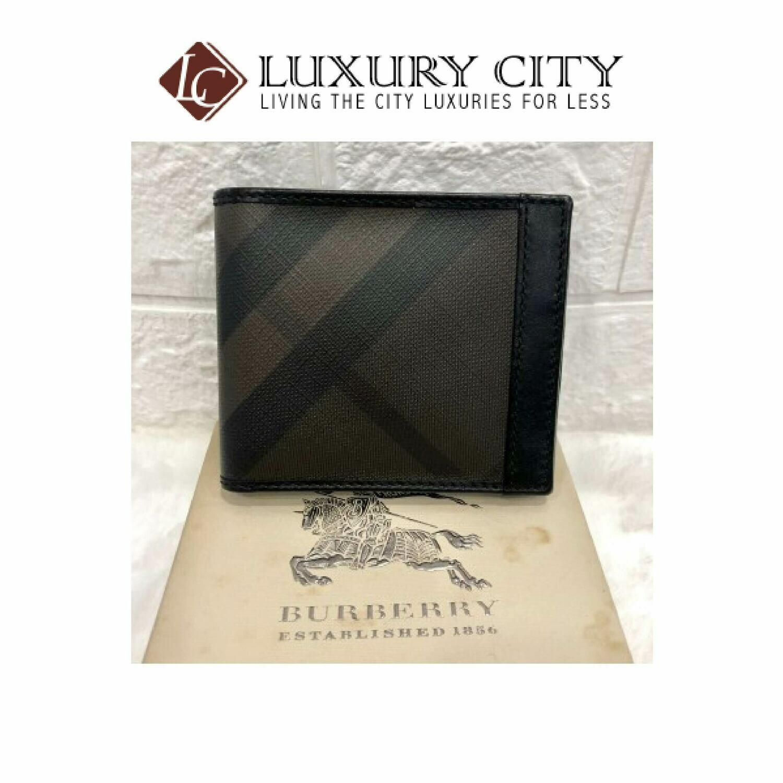 [Luxury City] Preloved Burberry Bifold Short Wallet