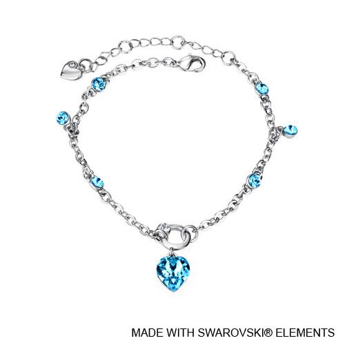 LUSH Devoted Heart Chain Bracelet