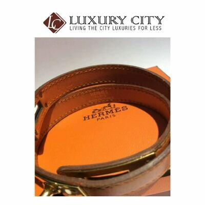 [Luxury City] Preloved Authentic Hermes Kelly Double Tour Bracelet