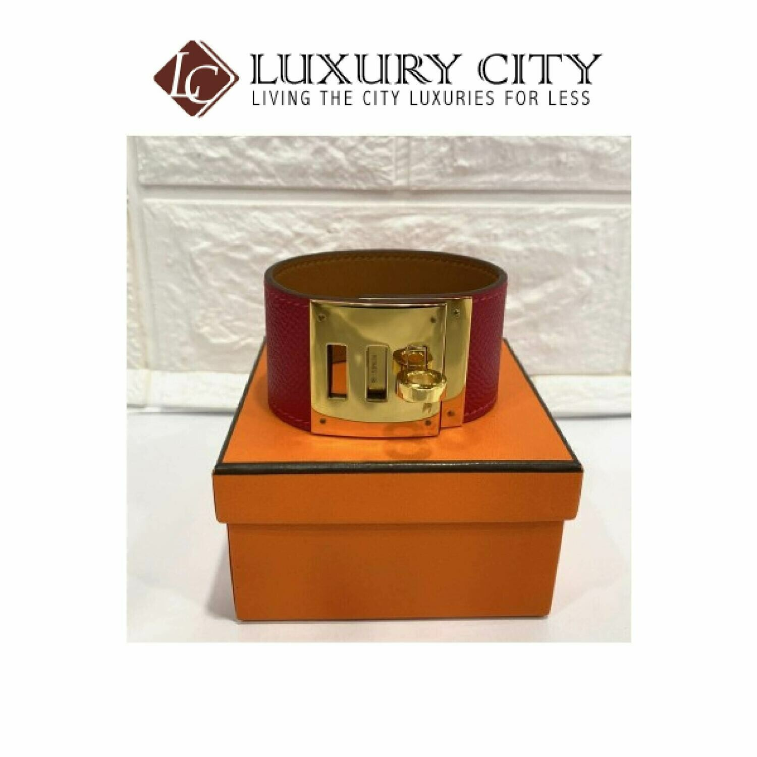 [Luxury City] Preloved Almost Like New Hermes Kelly Dog Bracelet