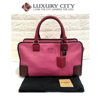 [Luxury City] Preloved Loewe Amazona 36
