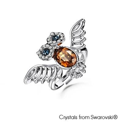 LUSH Wisdom Owl Ring