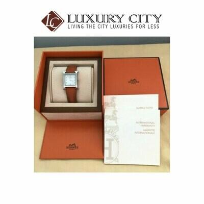 [Luxury City] Preloved Hermes Heuer H Watch