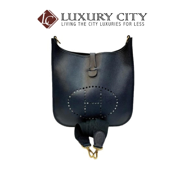 [Luxury City] Preloved Authentic Hermes Evelyn Crossbody Bag
