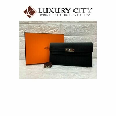 [Luxury City] Preloved Almost Like New Authentic Hermes Wallet