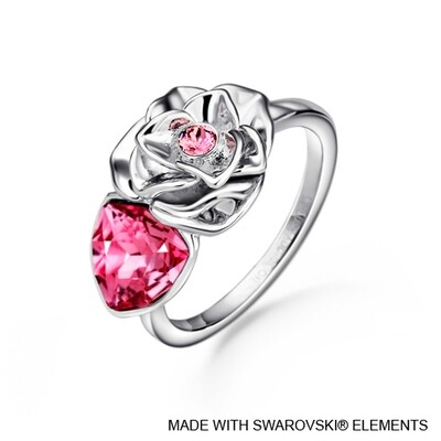 LUSH Trilliant Rose Ring