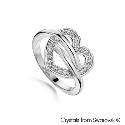 LUSH Infinity Heart Ring