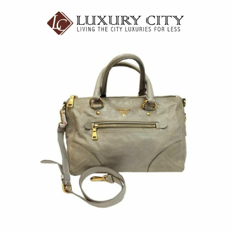[Luxury City] Preloved Authentic Prada Handbag