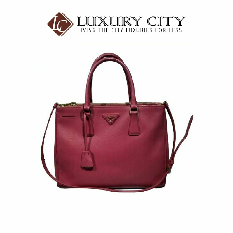 [Luxury City] Preloved Authentic Prada Saffiano Handbag