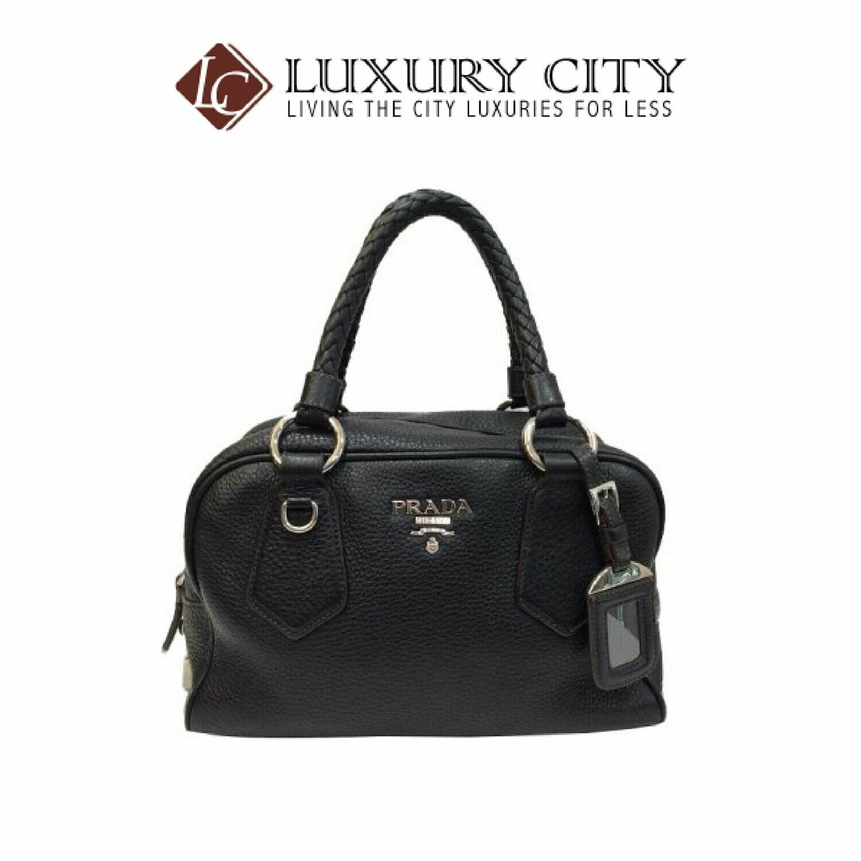[Luxury City] Preloved Authenthic Prada Handbag