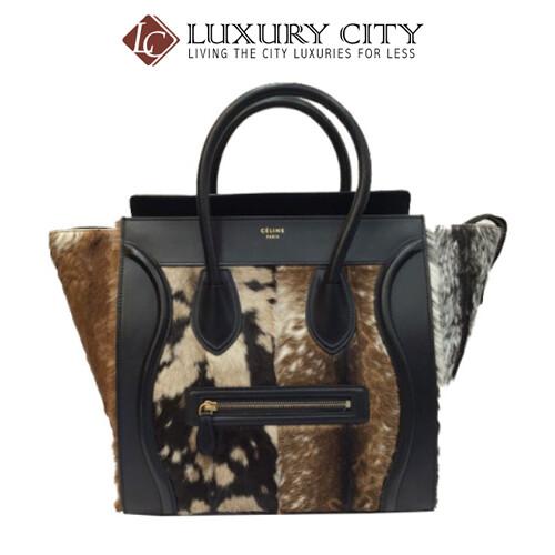 [Luxury City] Preloved Authentic Celine Horse Hair Handbag
