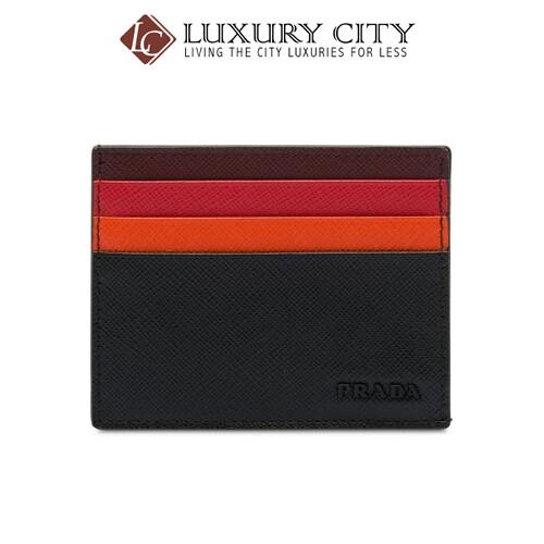 [Luxury City] Prada Card Holder Black Prada-2MC223