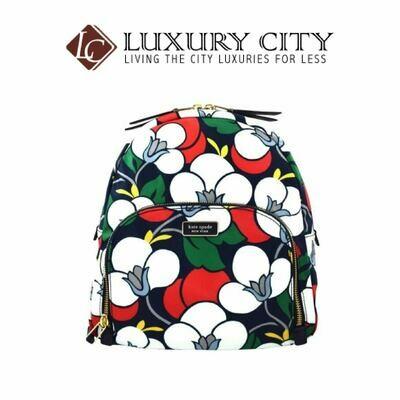 [Luxury City] Kate Spade Dawn Breezy Floral Medium Backpack Katespade-WKRU5925