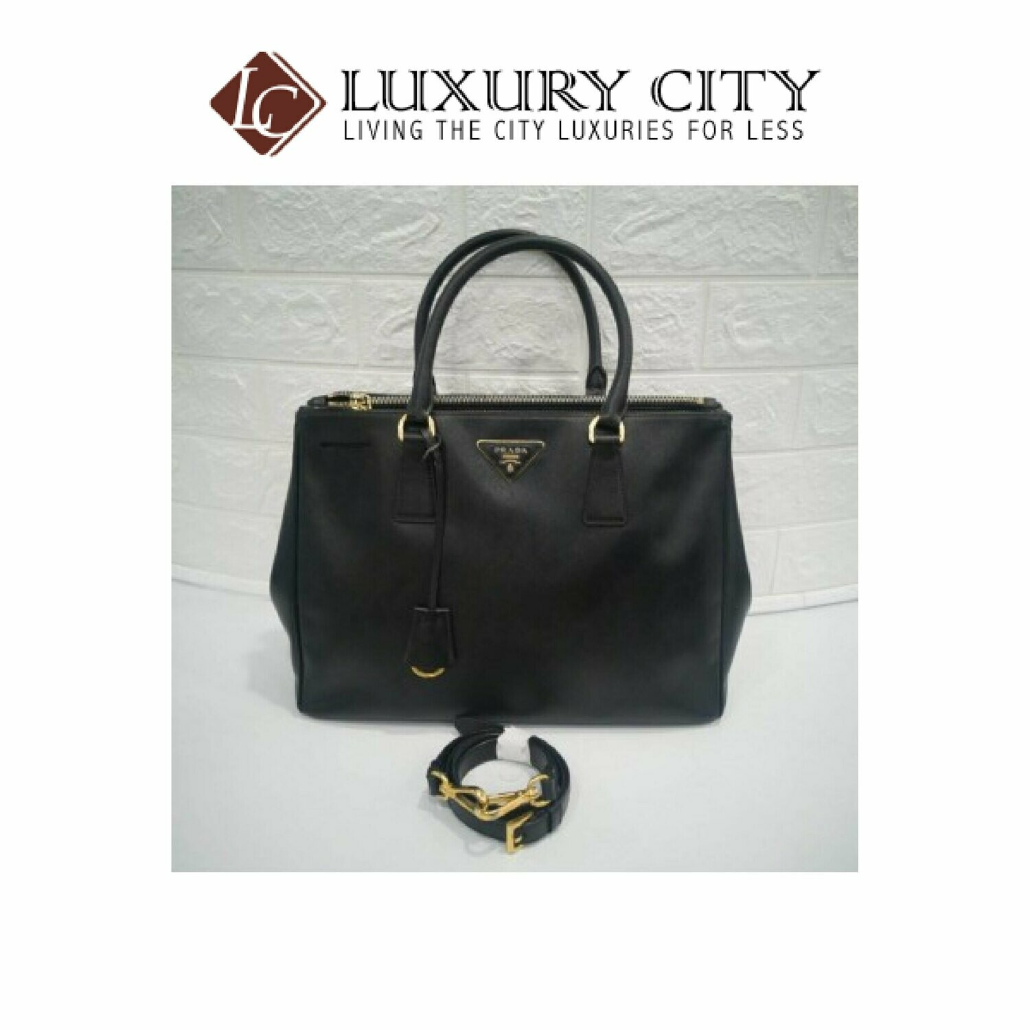 [Luxury City] Preloved Prada Saffiano Galleria M