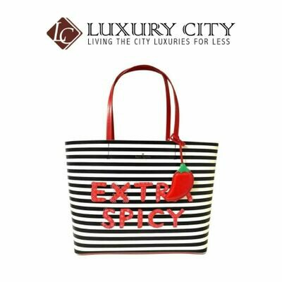 [Luxury City] Kate Spade Extra Spicy Chili Pepper Little Len Women's Tote Handbag