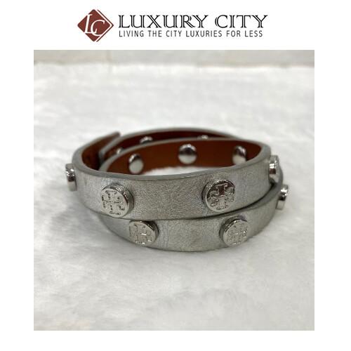 [Luxury City] Tory Burch Full Leather Bracelet