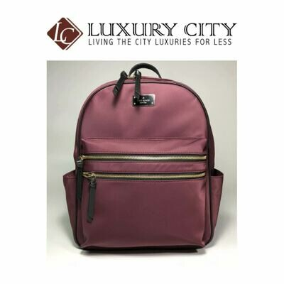 [Luxury City] Kate Spade Wilson Road Bradley Backpack Bag In Burgundy
