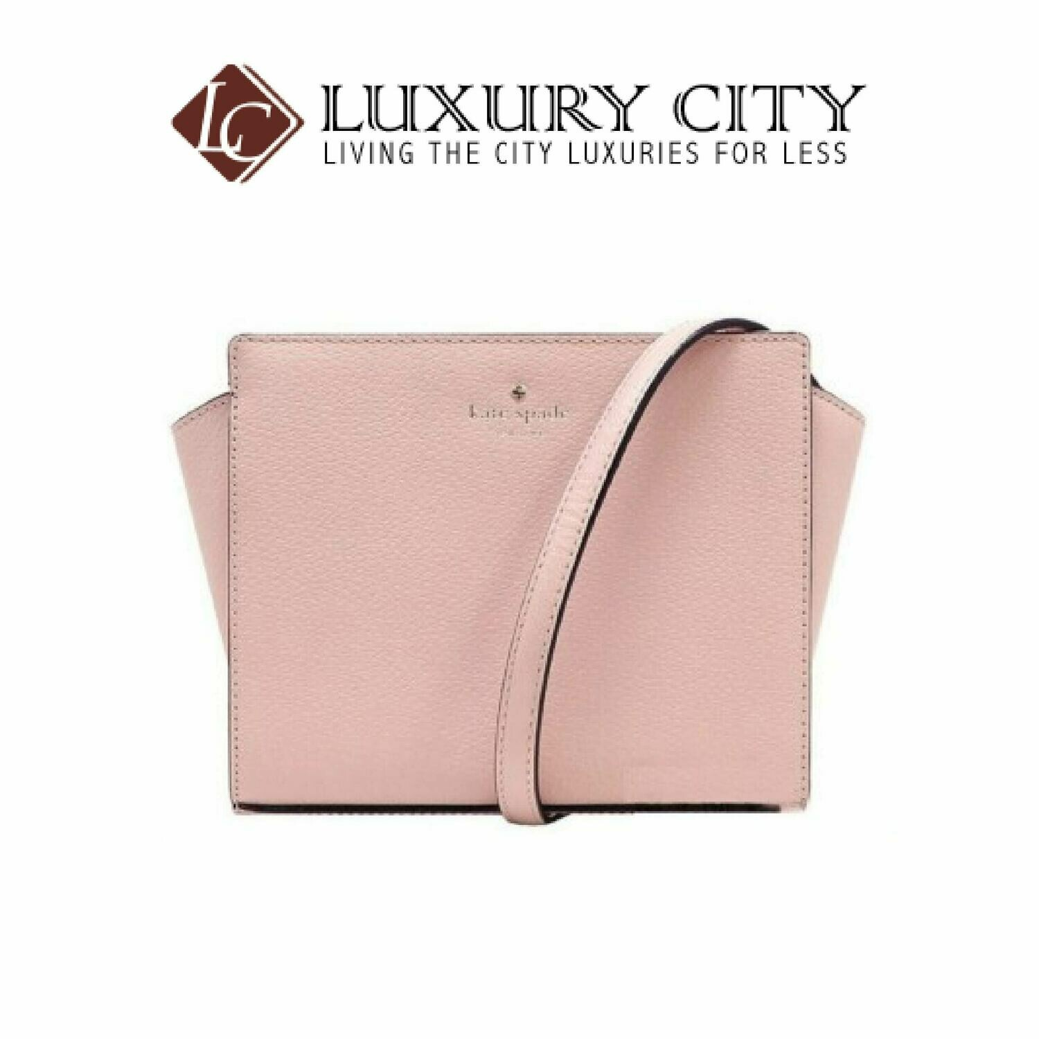 [Luxury City] Kate Spade Grand Street Haydene Crossbody Bag Katespade-WKRU4639 (Light Pink)