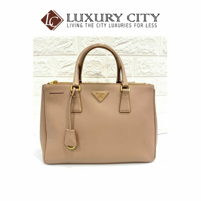 [Luxury City] Preloved Prada Galleria Leather Bag