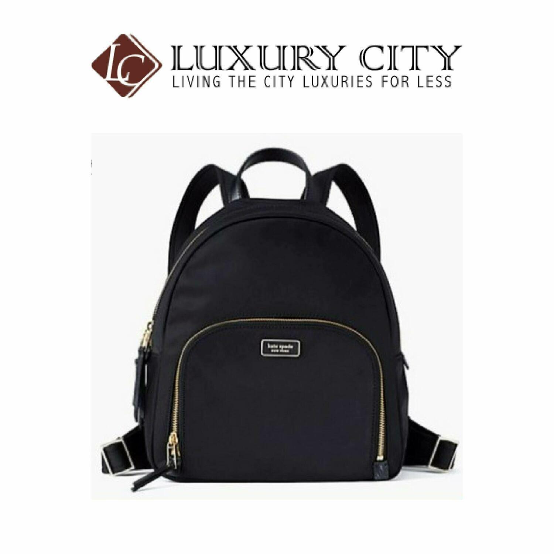 [Luxury City] Kate Spade Medium Backpack-WKRU5913 (Black)