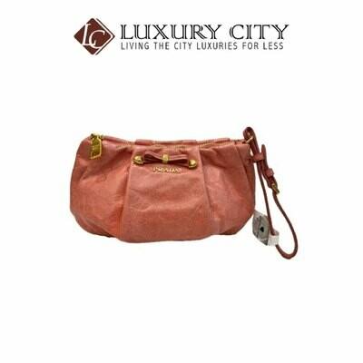 [Luxury City] Preloved Authentic Prada Wristlet