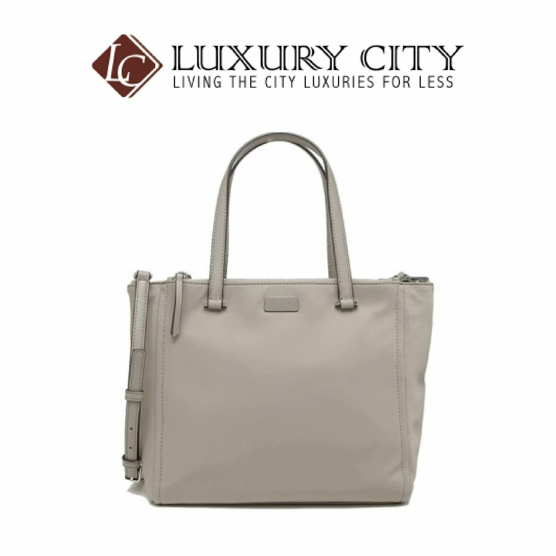 [Luxury City] Kate Spade New York Dawn Medium Satchel Grey Katespade-WKRU5918