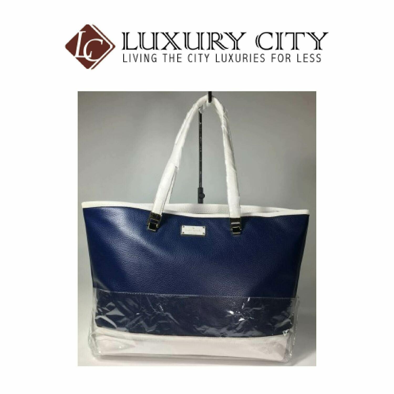 [Luxury City] Kate Spade WKRU3783 001 Oliver Street Tote Bag in Blue