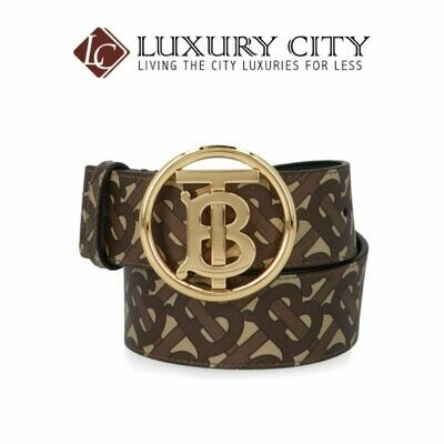 [Luxury City] Burberry Monogram Motif Buckle Belt Burberry-8023451