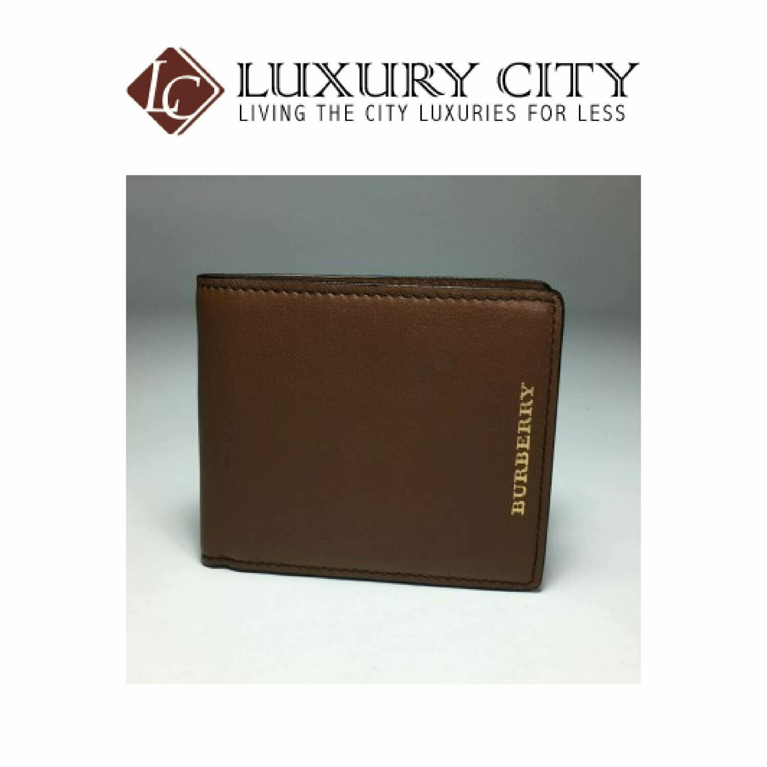 [Luxury City] Burberry Classic Wallet In Light Brown
