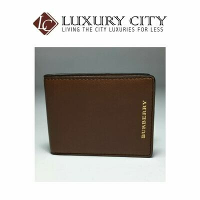 [Luxury City] Burberry Classic Billfold Wallet In Brown
