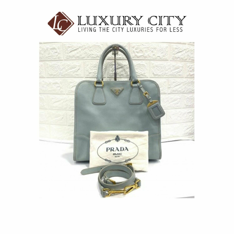 [Luxury City] Preloved Prada Saffiano 2 Ways Carry Bag