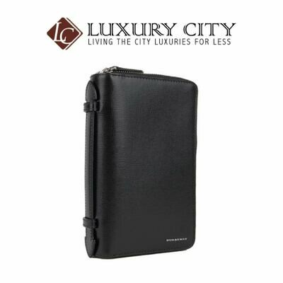[Luxury City] Burberry London Leather Travel Wallet
